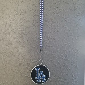 Dodgers medallion